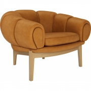 Gubi - Croissant Lounge Sessel
