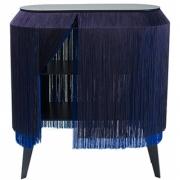 Ibride - Table de chevet  Baby Alpaga Electric Blue