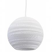 Graypants - Moon 10 Pendelleuchte 26 cm | Weiß