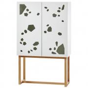 A2 - Sneak peek Cabinet Wandschrank hoch geölte Eiche
