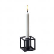 by Lassen - Kubus 1 Kerzenständer Schwarz