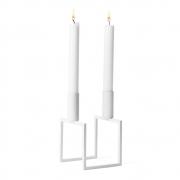 by Lassen - Line Kerzenständer Weiß