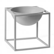 by Lassen - Kubus Bowl kleine Schale Cool Grau
