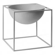 by Lassen - Kubus Bowl große Schale Cool Grau