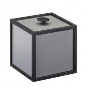 by Lassen - Frame 10x10cm Box Dunkelgrau