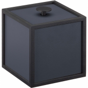 by Lassen - Frame 10x10cm Box Dark Blue