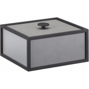 by Lassen - Frame 14x14cm Box Dark Grey