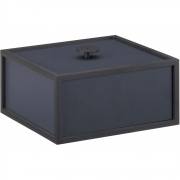 by Lassen - Frame 14x14cm Box Dunkelblau