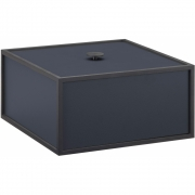 by Lassen - Frame 20x20cm Box Dark Blue
