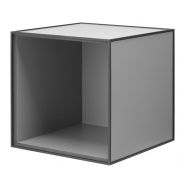 by Lassen - Frame 35 Box without door Dark Grey