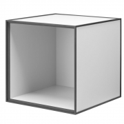 by Lassen - Frame 35 Box ohne Tür Hellgrau