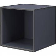 by Lassen - Frame 35 Box without door Dark Blue
