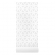 by Lassen - Flow Wallpaper Grey