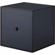 by Lassen - Frame 28 Box mit Tür Dunkelblau