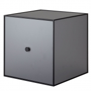 by Lassen - Frame 35 Box mit Tür Dunkelgrau