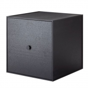 by Lassen - Frame 35 Box incl. door Black Ash