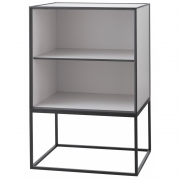 by Lassen - Frame Sideboard 49 without a door, with a shelf Light Grey
