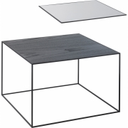 by Lassen - Twin 49 Table Beistelltisch (schwarzer Rahmen)