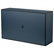 by Lassen - Frame shoe cabinet Dark Blue