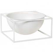 By Lassen - Kubus Bowl Centerpiece Grande | Branco