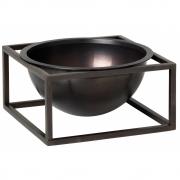 by Lassen - Kubus Bowl Centerpiece small | Kupfer brüniert