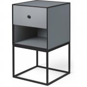 by Lassen - Frame Sideboard 35 mit einer Schublade Dunkelgrau