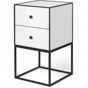 by Lassen - Frame Sideboard 35 mit zwei Schubladen Weiß