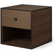 by Lassen - Frame 35 Box with one Drawer Smoked Oak