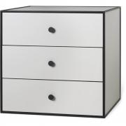 by Lassen - Frame 49 Box mit drei Schubladen