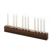 side by side - Countdown Candleholder Advent