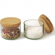 side by side - Salt and Herb Jars (Set of 2)
