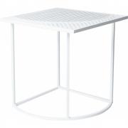 Petite Friture - Iso-A/B Beistelltisch Viereckig   Weiß