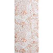 Petite Friture - Jungle Tapete Kupfer auf Weiß