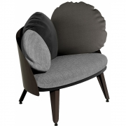 Fauteuil Shades of grey Nubilo - Petite Friture