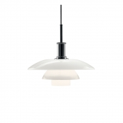 Louis Poulsen - PH 4½-4 Glass Pendant Lamp