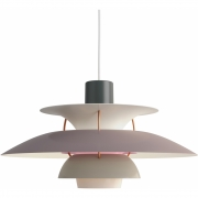 Louis Poulsen - PH 5 Pendant Lamp Hues of Grey