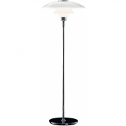 Louis Poulsen - PH 4½-3½ Glass Floor Lamp