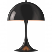Louis Poulsen - Panthella Mini Table Lamp Black