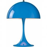 Louis Poulsen - Panthella Mini Tischleuchte Blau