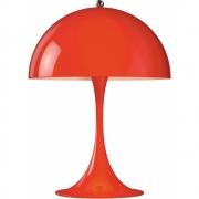 Louis Poulsen - Panthella Mini Tischleuchte Rot