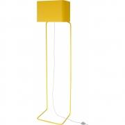 frauMaier - ThinLissie Stehleuchte Gelb | Trittschalter