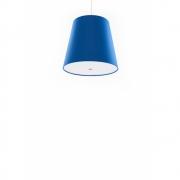 frauMaier - Single Small Cluster Pendant Lamp Blue