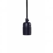 Frama - E27 Pendant Black Matt (Cord: Black)