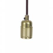 Frama - E27 Pendant Brass | Bordeaux