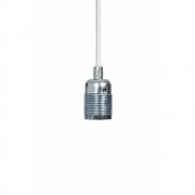 Frama - E27 Hängeleuchte Silber | Weiß