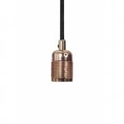 Frama - E27 Hängeleuchte Kupfer | Schwarz