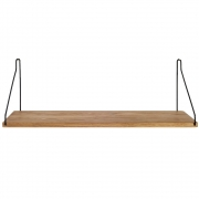 Frama - Shelf Regal 60 x 20 cm | Schwarz
