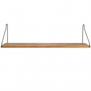 Frama - Shelf Regal 80 x 20 cm   Schwarz