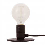 Frama - E27 Table Lamp Black