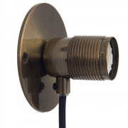 Frama - E27 Wandleuchte Klein | Bronze